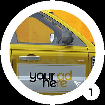 taxi1 werbung Bülach